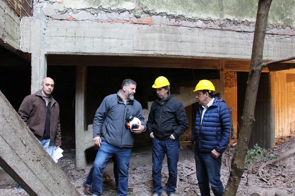 Municipio y Provincia demolerán un antiguo edificio sin terminar