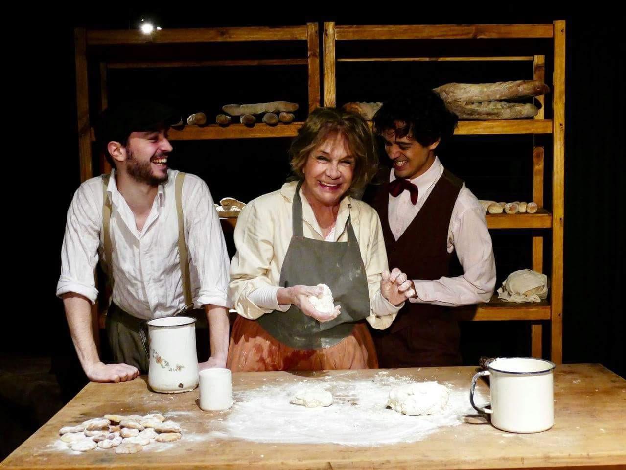 """""""La Panadera de los Poetas"""": Virginia Lago en el Forum"""