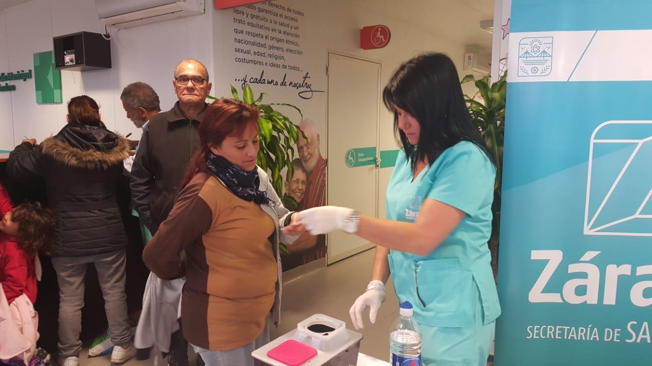 Municipio intensifica la campaña de vacunación antigripal