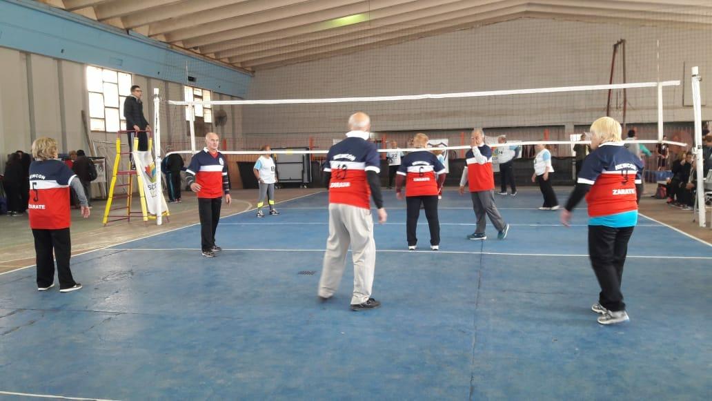 Adultos mayores de Zárate participan en Etapa Regional de los Juegos Bonaerenses