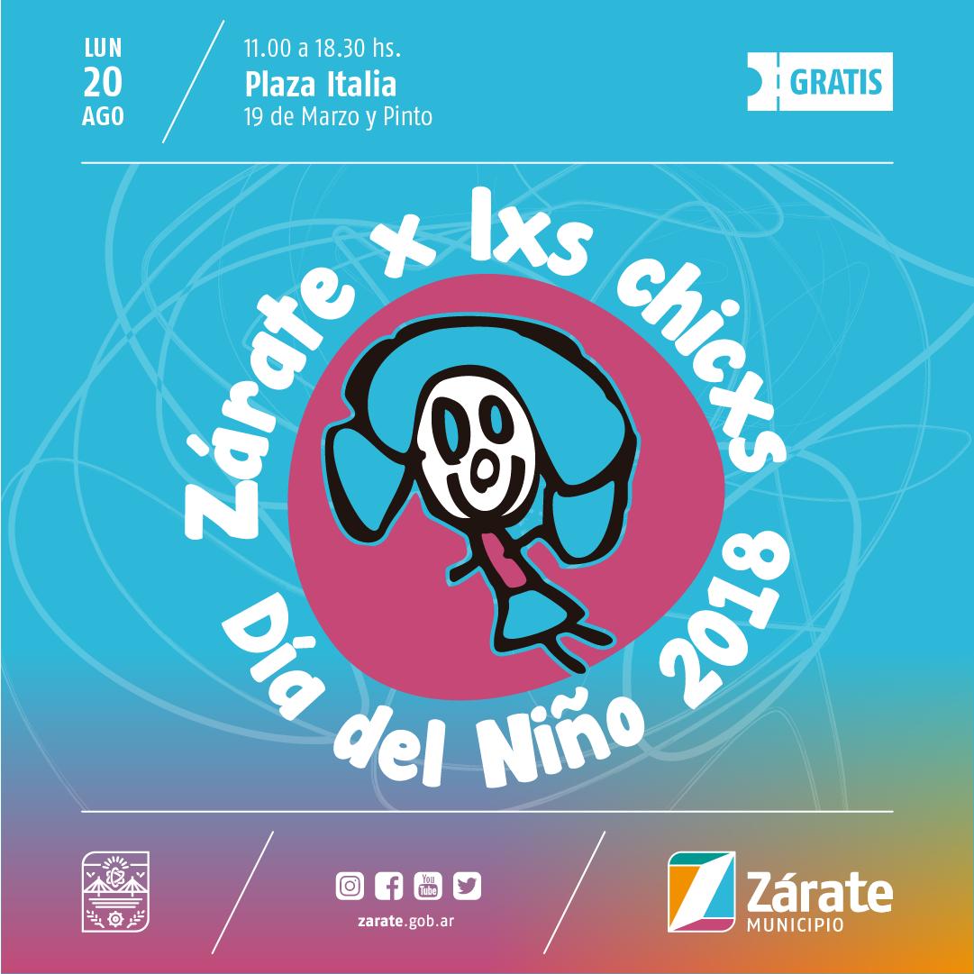 El Municipio festeja el Día del Niño en Zárate y Lima