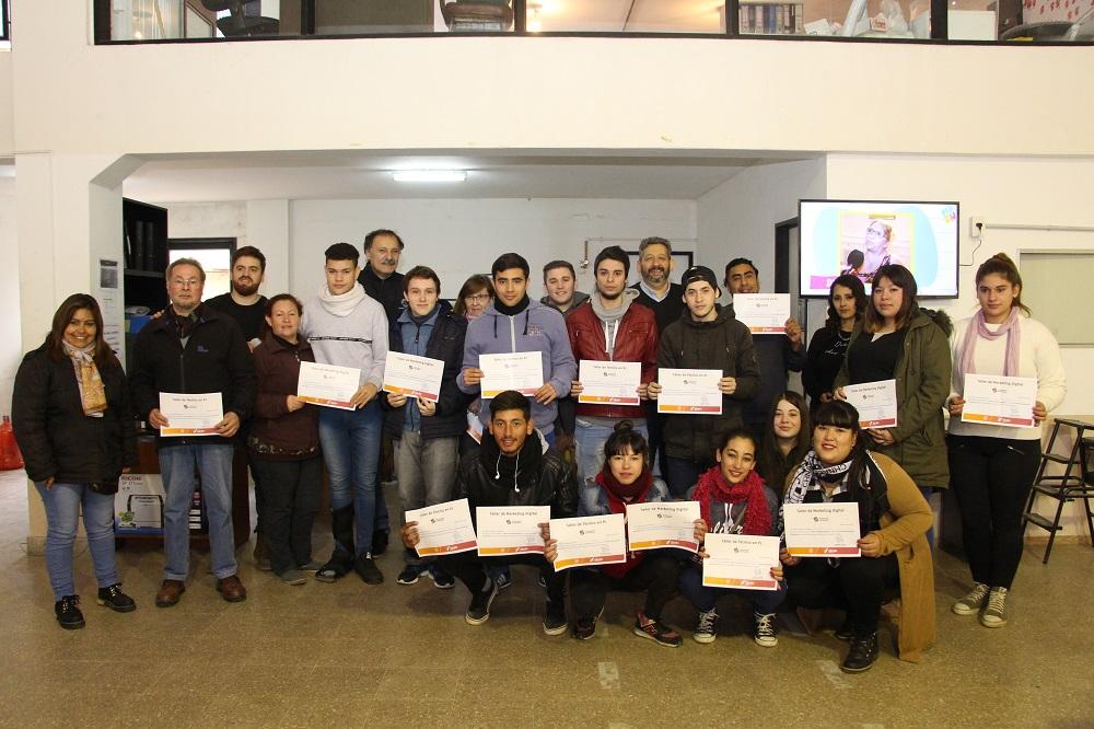 Egresaron alumnos de los talleres de Presupuesto Participativo