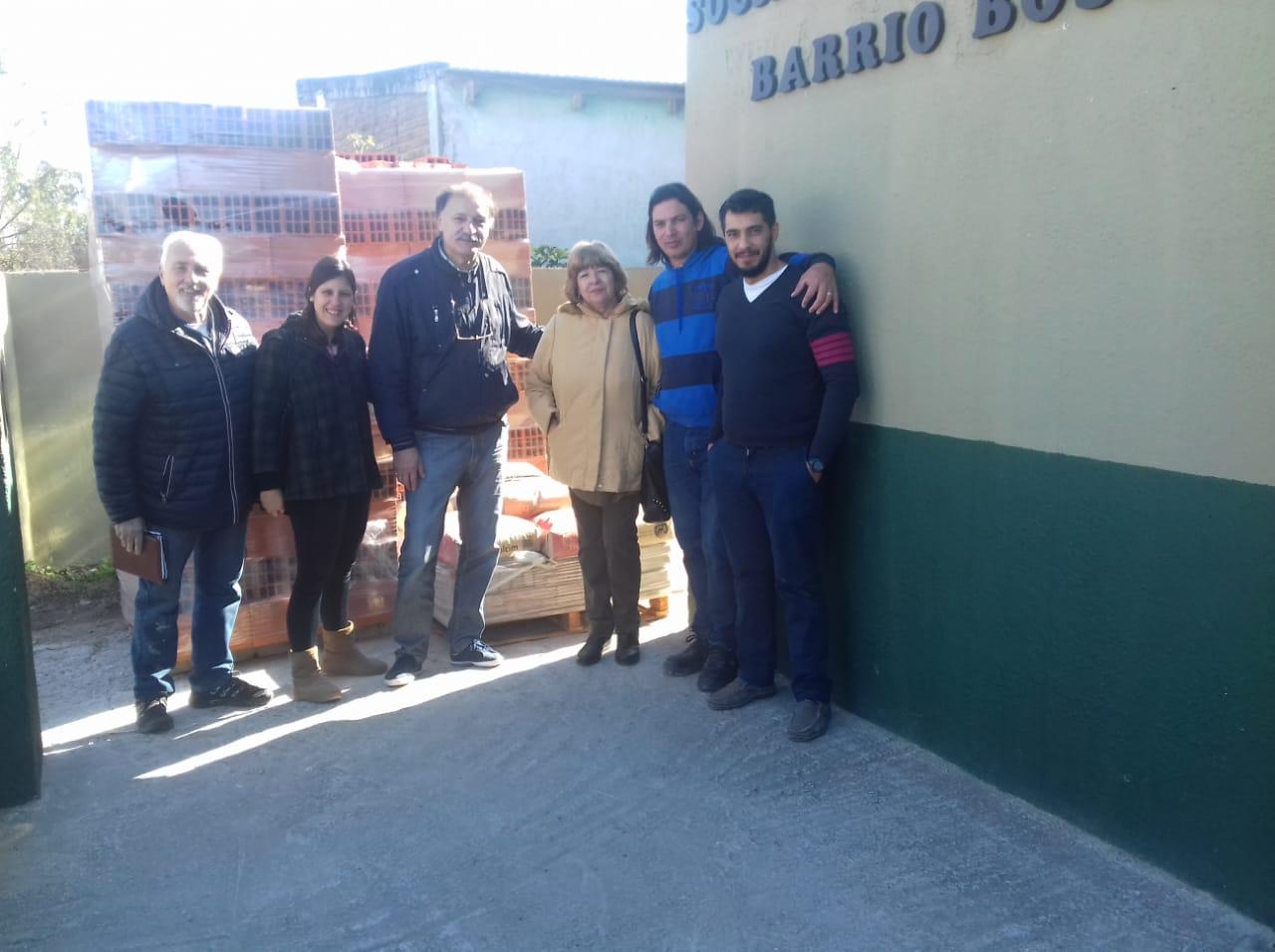 El Municipio fortalece a las instituciones barriales