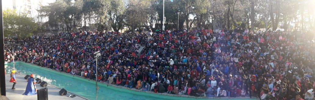 Más de diez mil personas festejaron el Día del Niño