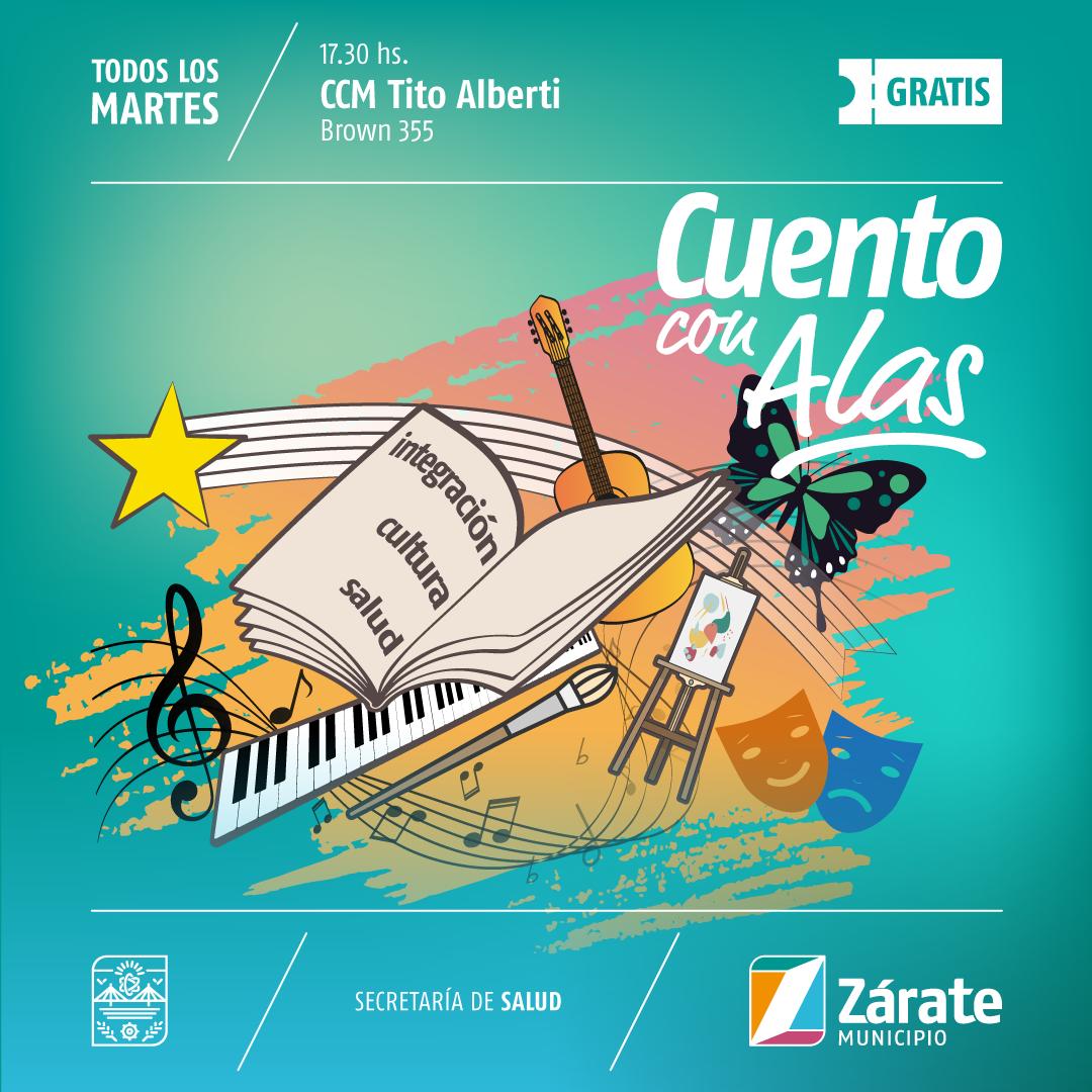 """El martes se realiza el primer taller musical de """"Cuento con Alas"""""""