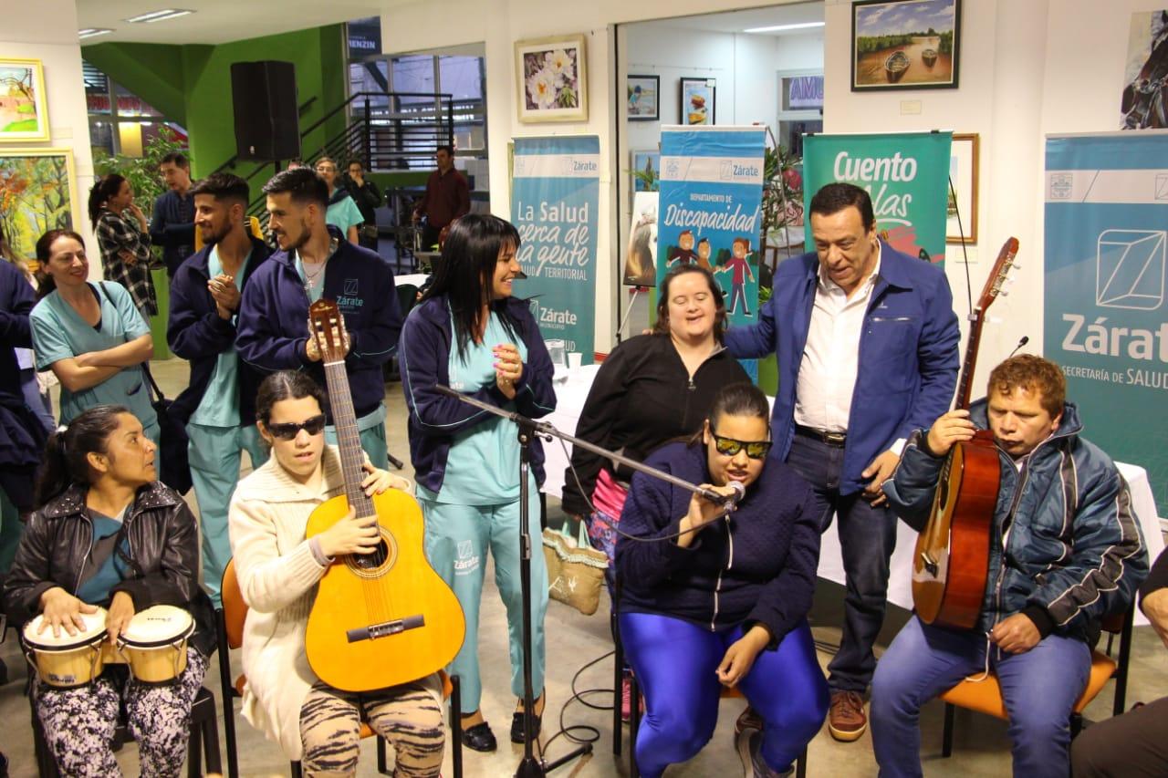 """Municipio presentó el programa """"CuentoconAlas"""", un espacio cultural para personas con discapacidad"""