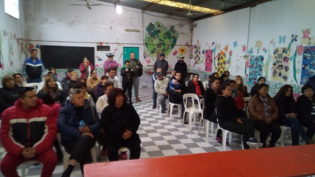 Barrio Zárate ya tiene conformada la Comisión Directiva de la Unión Vecinal