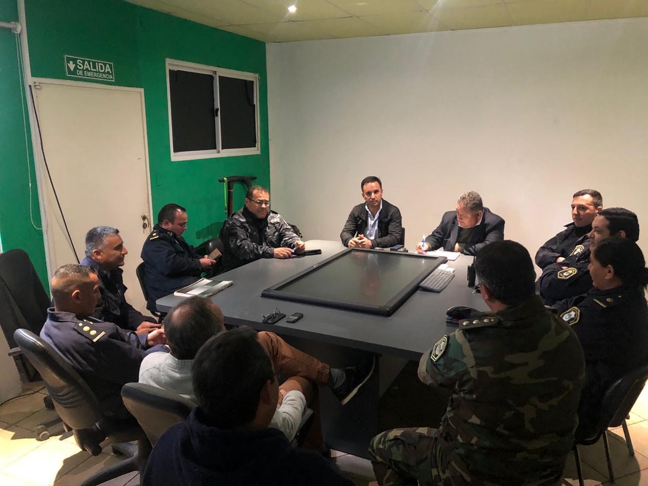 Se realizó reunión de coordinación de Seguridad