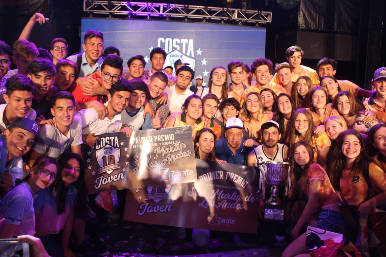 Hotton 5° A Economía y la Escuela Técnica N°4 4° 1ra, los ganadores de Costa Joven 2018