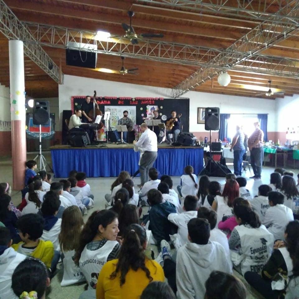 Municipio lleva el tango a las escuelas