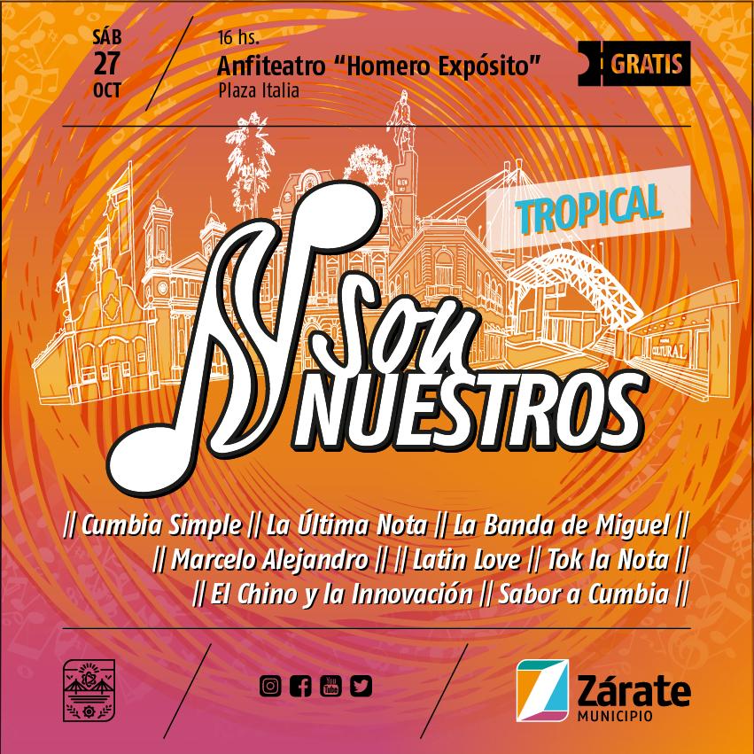 """Se realizará el primer Festival de """"Son Nuestros"""""""