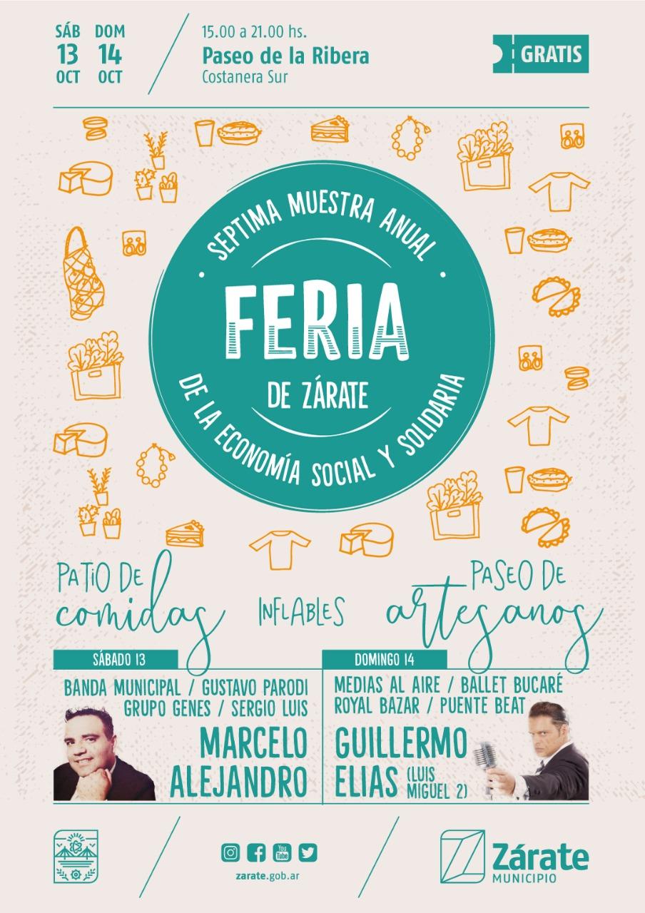 Municipio organiza la séptima Feria de Economía Social y Solidaria