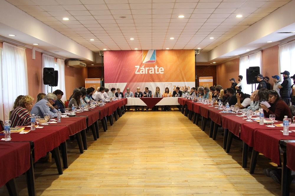 Zárate fue sede de un nuevo encuentro de Produce BA