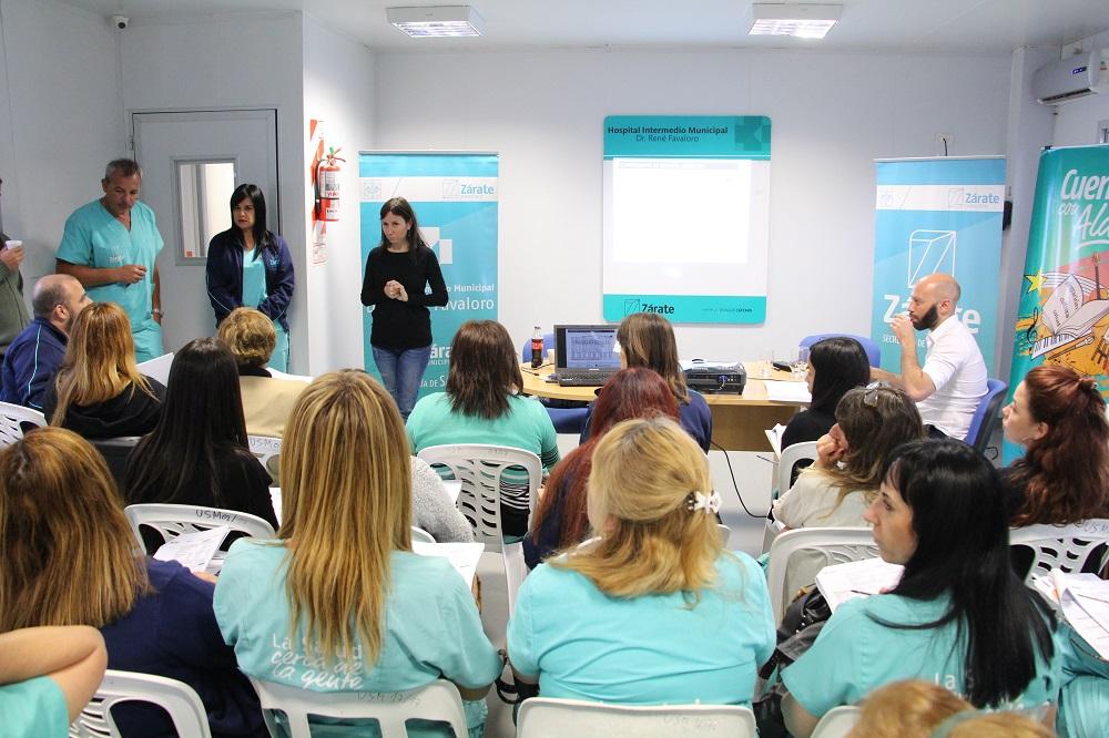 Secretaría de Salud realizó nuevo curso de capacitación