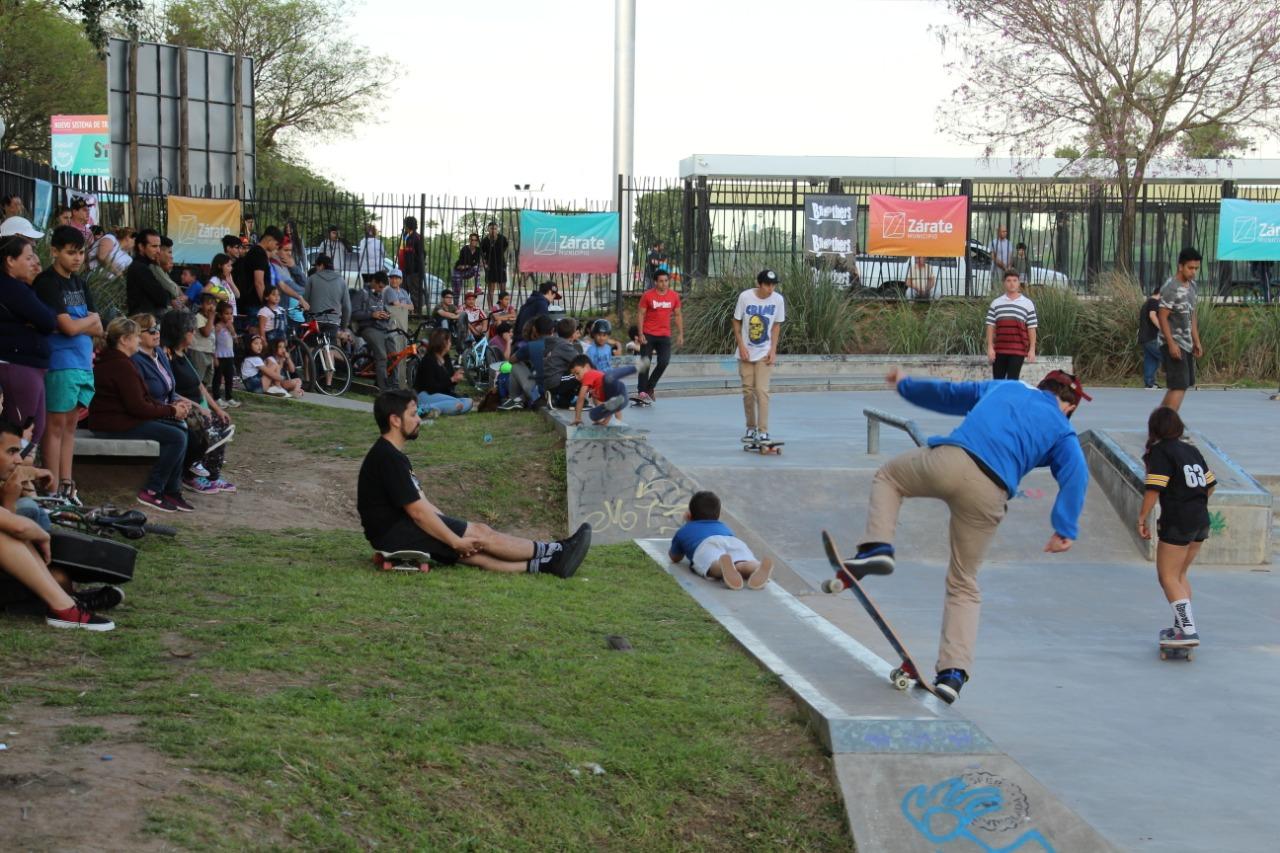 En Zárate se realizó el Campeonato Street Argentino de Skate