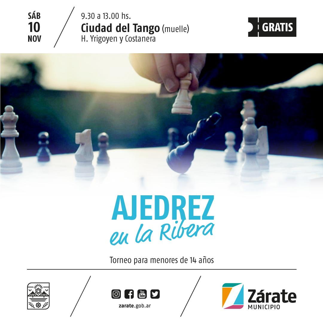 Municipio organiza una competencia de ajedrez