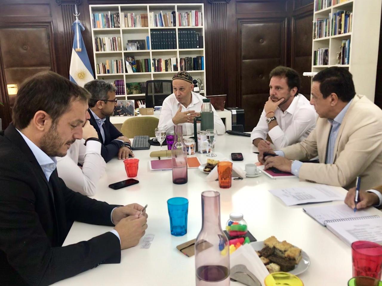 Cáffaro se reunió con el Secretario de Ambiente Rabino Bergman
