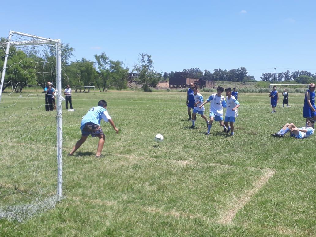 Se llevó a cabo un encuentro de fútbol inclusivo