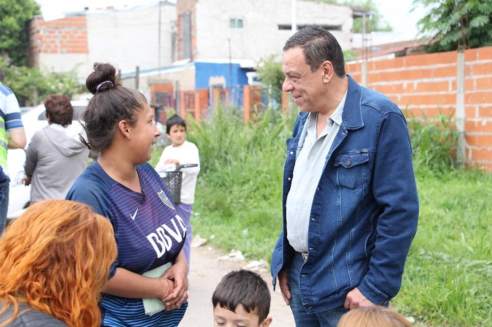 Emergencia Territorial: el Municipio estuvo en el barrio María Auxiliadora