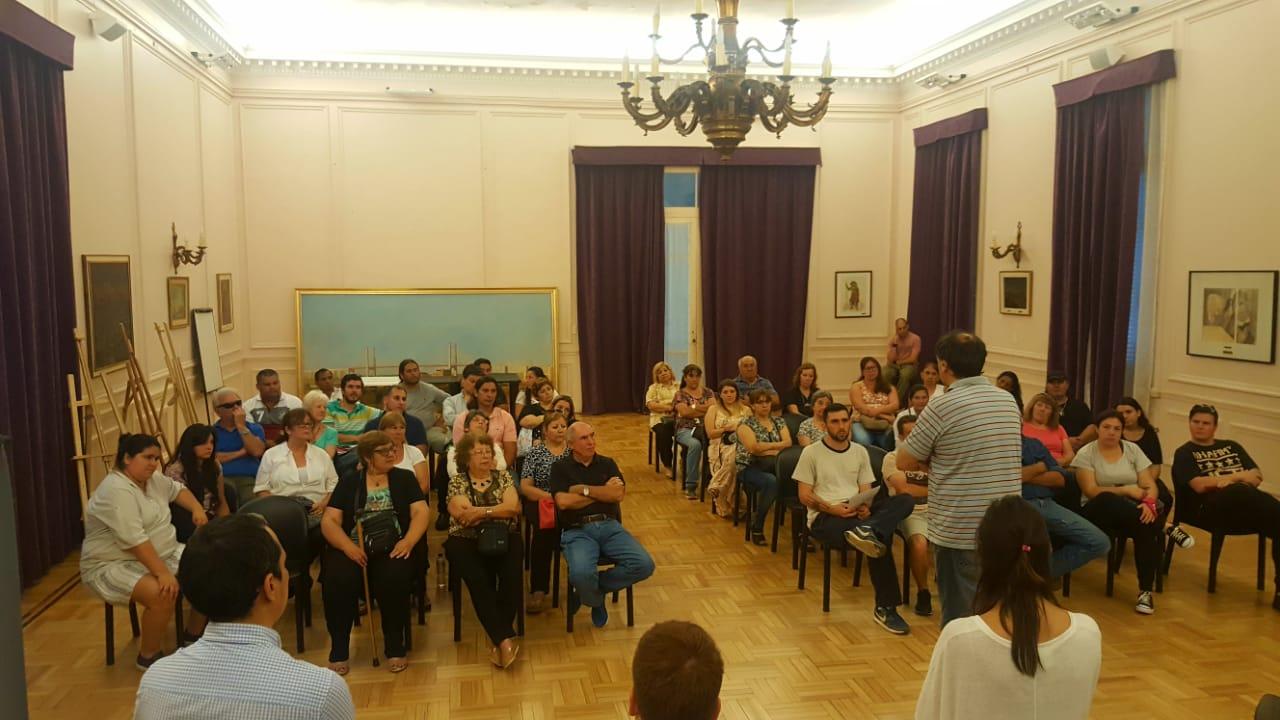 Se reunió el Consejo Ciudadano del Presupuesto Participativo en el Salón de Actos del Municipio