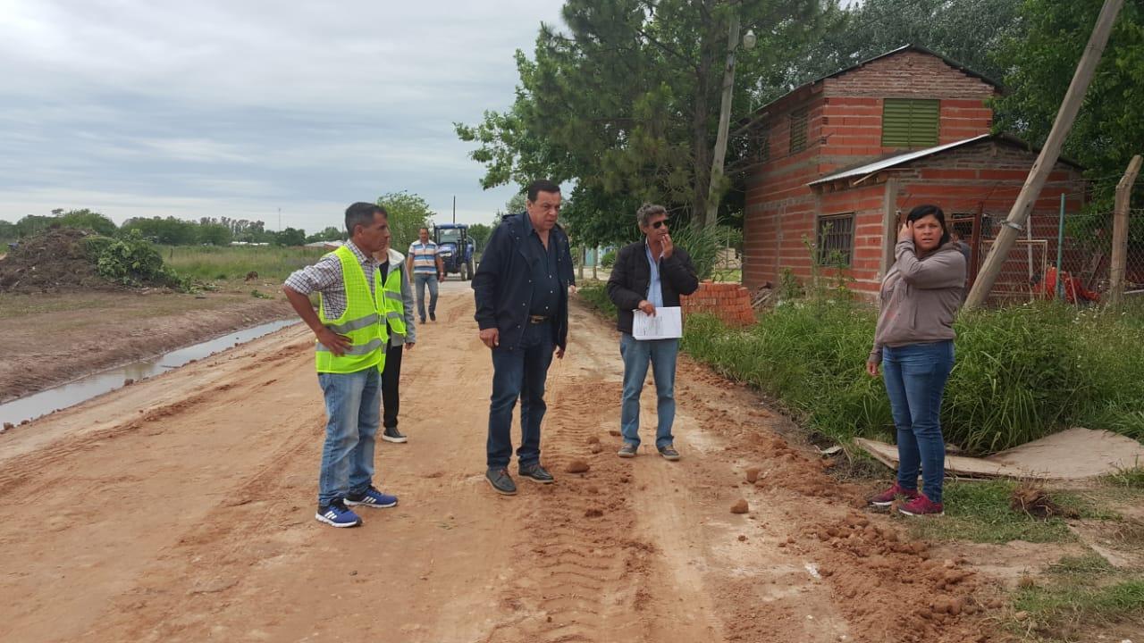 Emergencia Territorial: el Municipio trabaja en el barrioEspaña