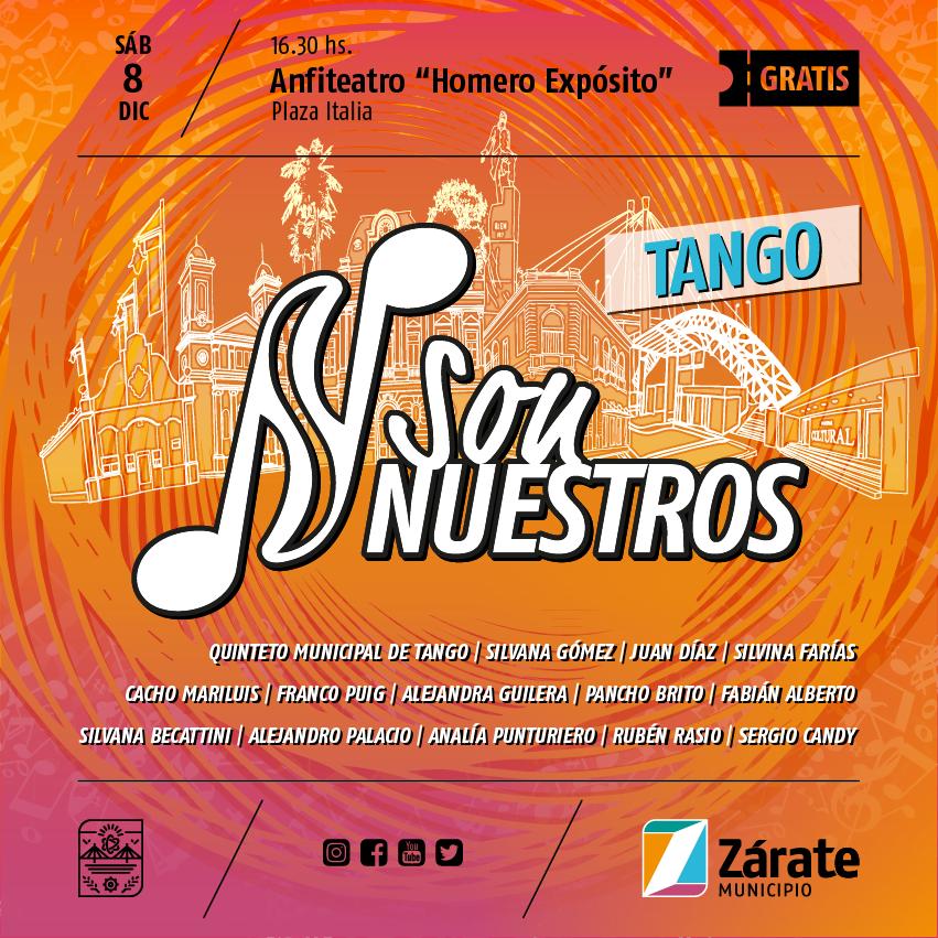 Son Nuestros: el turno del tango en el Anfiteatro