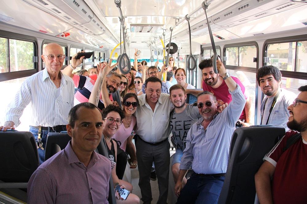 El SIT ya traslada vecinos a Lima y Escalada