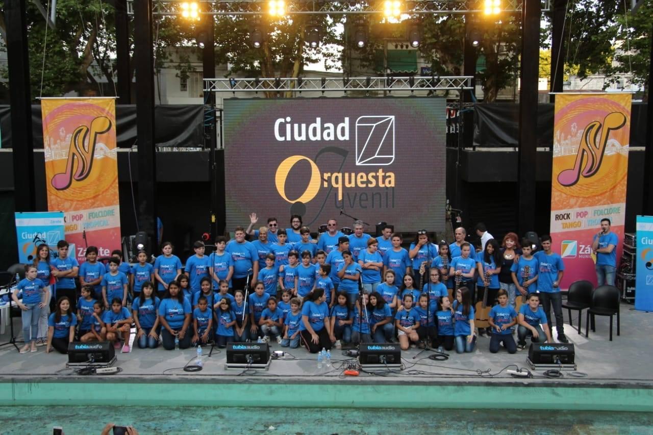 """Exitosa presentación de la Orquesta Juvenil """"Ciudad Z"""""""