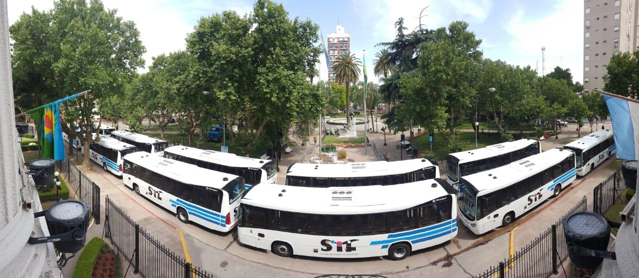 El Departamento Ejecutivo y el HCD defendieron el nuevo Sistema Integrado de Transporte