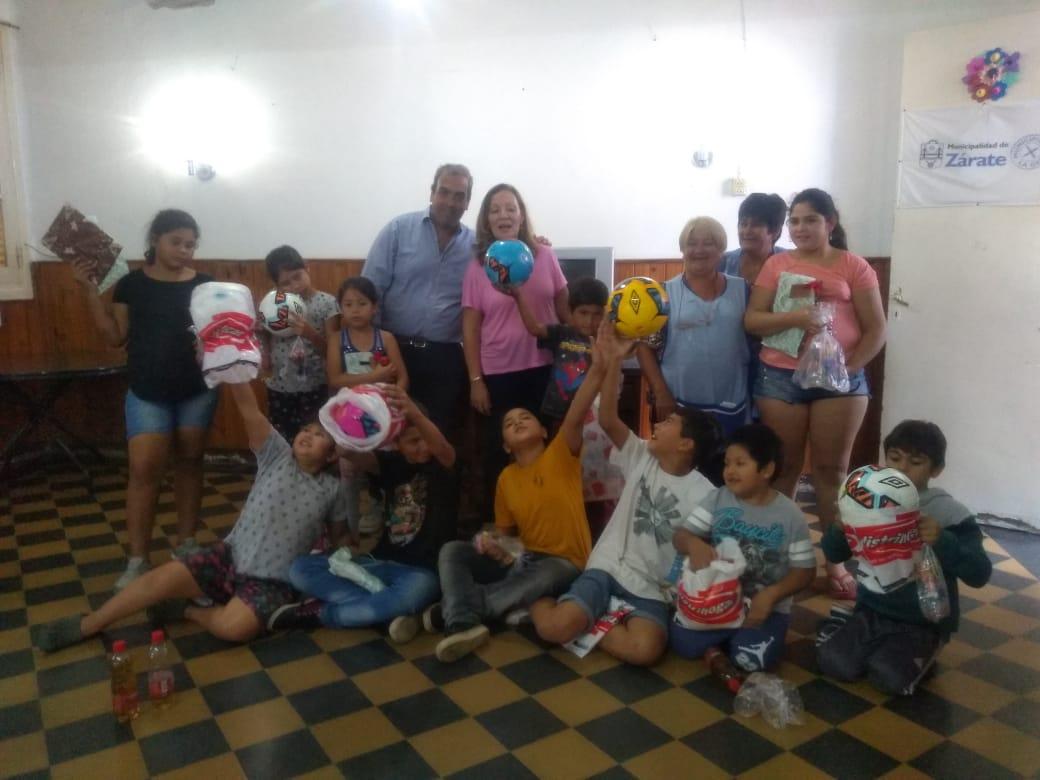 La Casa del Niño Santa Teresita festejó fin de año con actividades lúdicas
