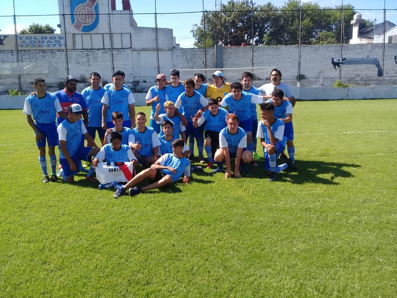Zárate participó de torneo de fútbol inclusivo