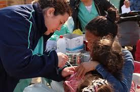 Zárate logró el 100% de cobertura en campaña contra sarampión y rubeola