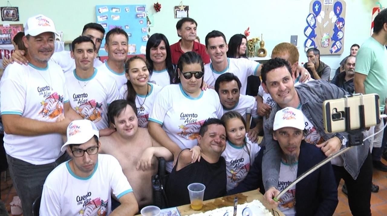 Cuento con Alas visitó el Hogar de Panchito Chevez