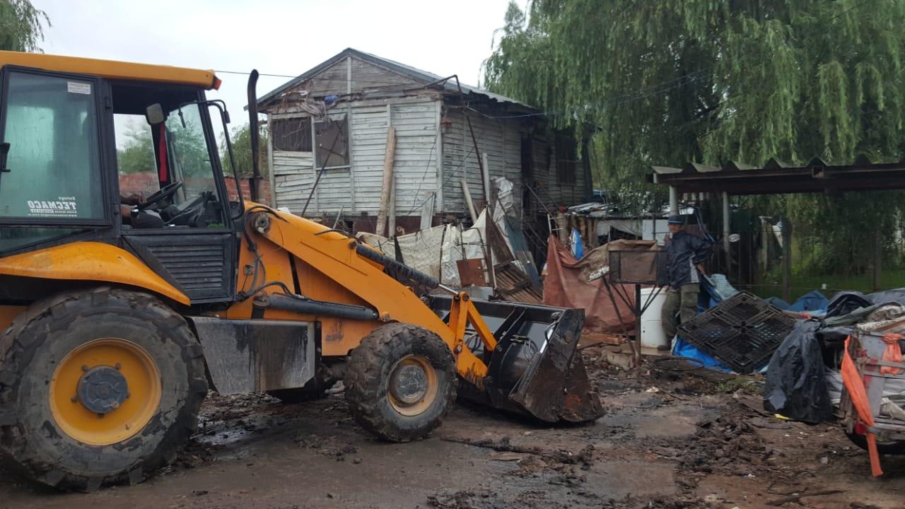 Municipio limpia chatarra y zanjas por prevención de hantavirus