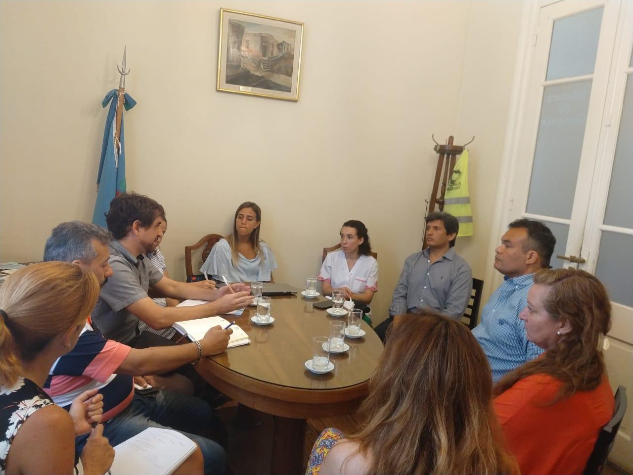"""Se realizó reunión de coordinación por el Programa provincial """"Garantizar tu identidad"""""""
