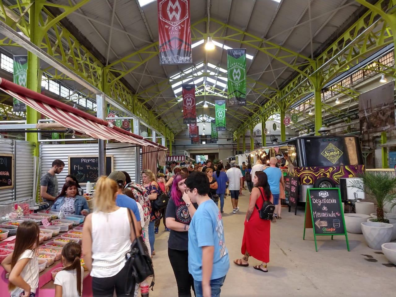 La re-apertura del Mercado Witcel fue un éxito