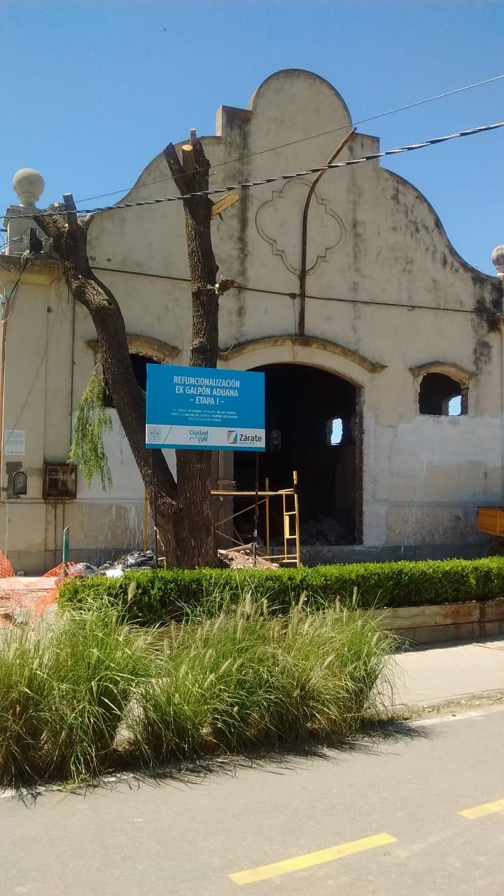 Municipio pone en valor el edificio de la ex Aduana en la Costanera