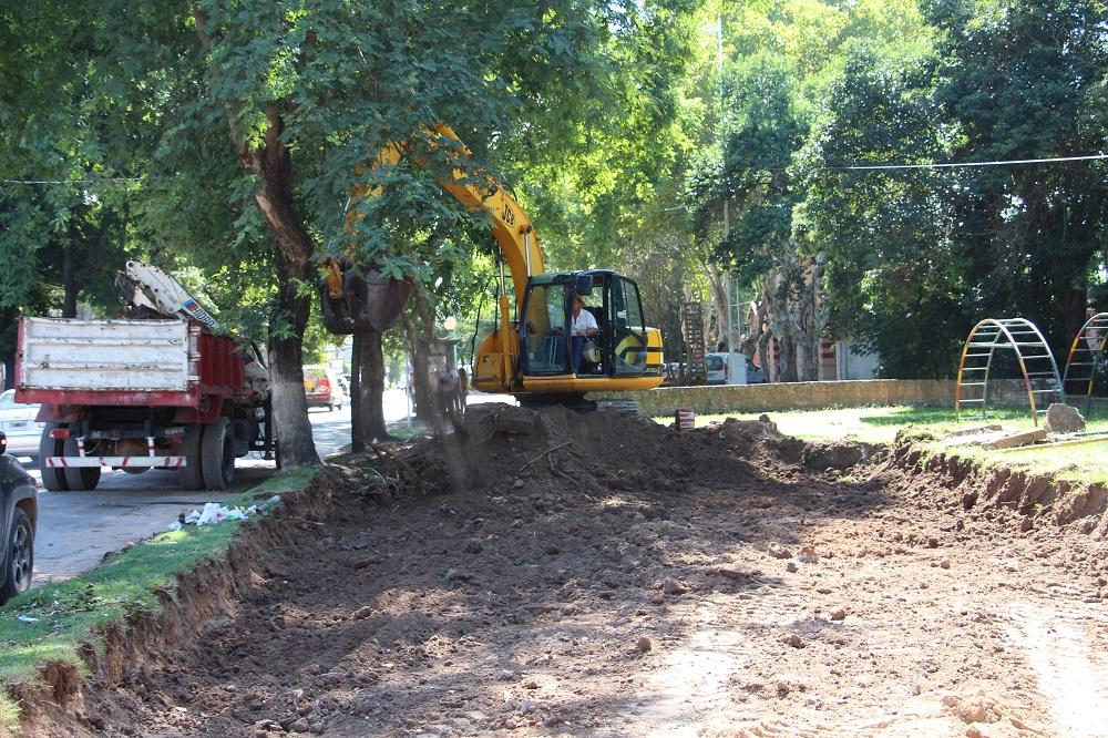 Comenzó la obra de ampliación de la avenida Mitre