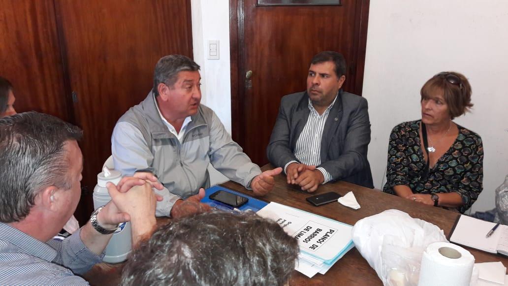 José Orlando, Delegado Municipal de Lima, recibió a concejales