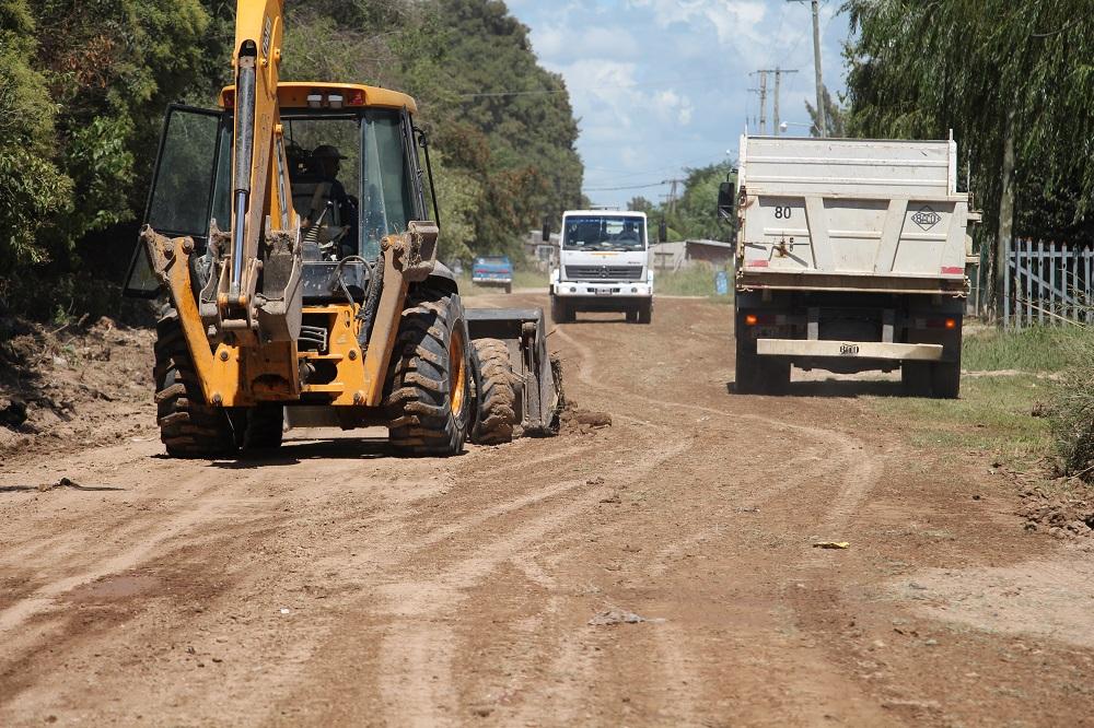 El Municipio trabaja en la transitabilidad de todas las calles