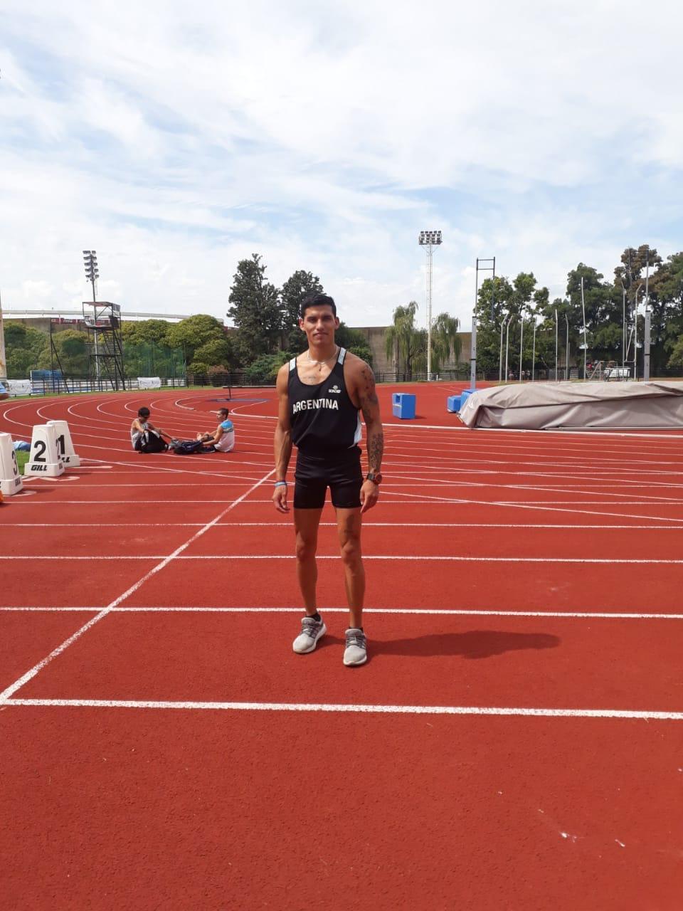 Hernán Barreto ganó en su primera competencia de preparación a los Parapanamericanos