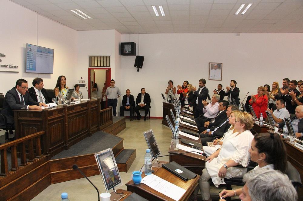 El Intendente Cáffaro abrió el período de sesiones del HCD con un fuerte discurso