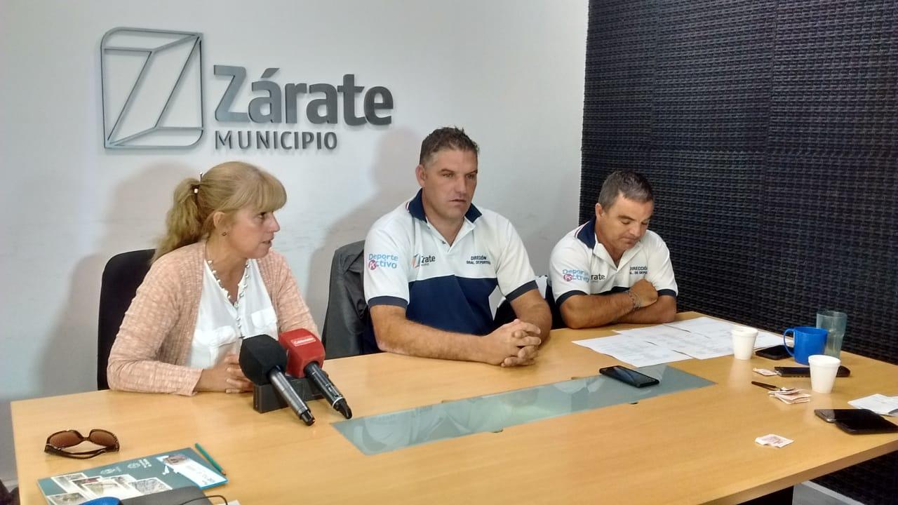 El Municipio presentó susescuelasy actividades deportivas