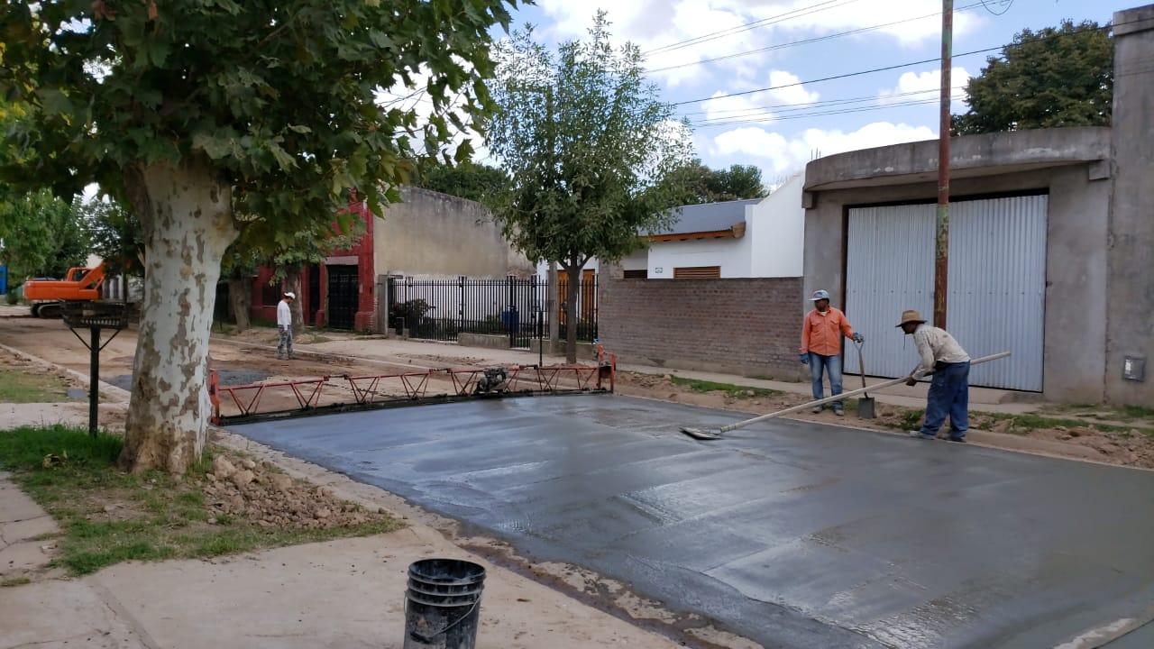 Continúa la obra de pavimento de hormigón en Lima