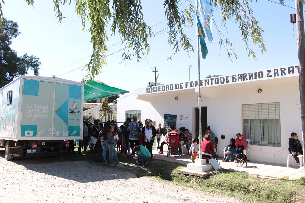 Continúa el Programa de Salud Territorial