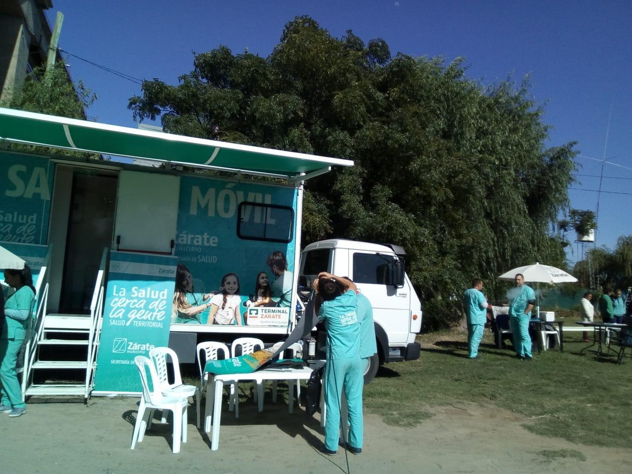Salud Territorial trabajó en la zona insular