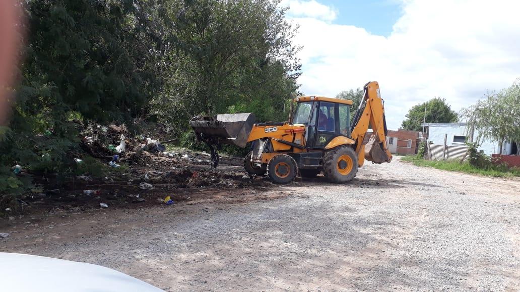 Municipio avanza con tareas de mantenimiento