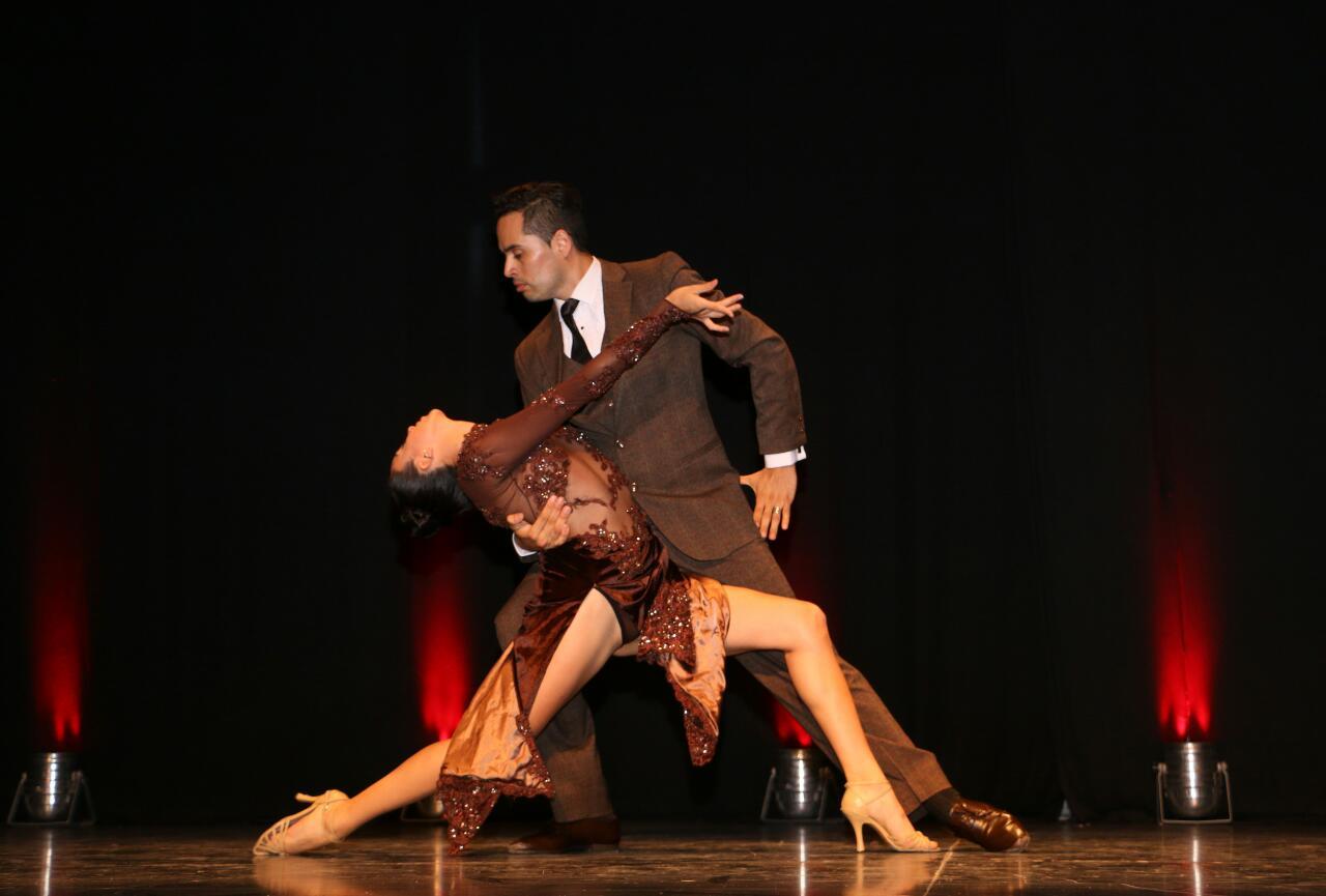 El Festival Provincial del Tango comenzó con el Campeonato de Tango Escenario
