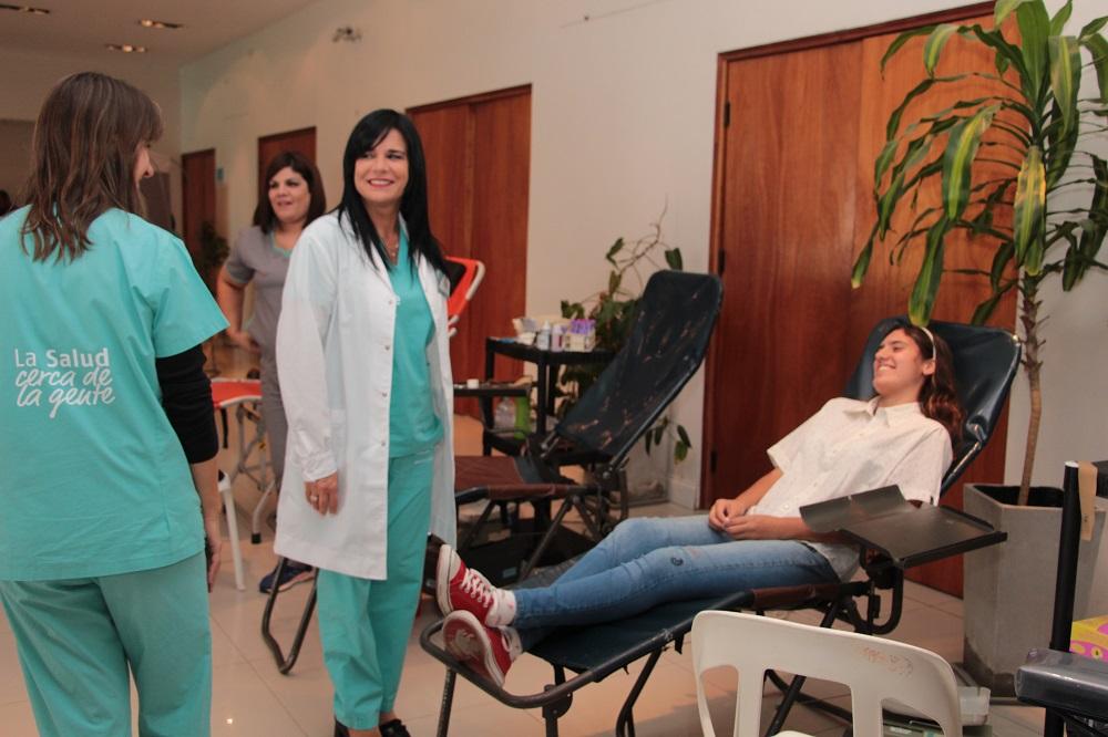 Exitosacampañadedonaciónde sangre en Zárate para el Hospital Garrahan
