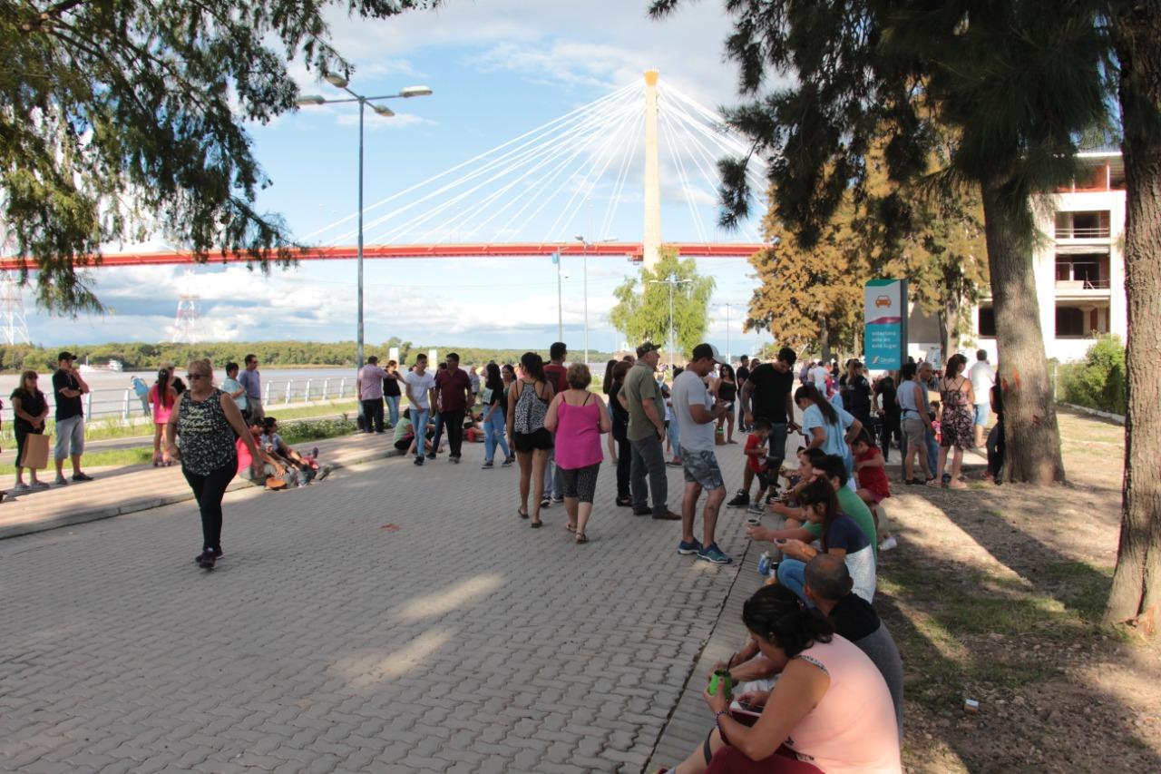 Se inauguró la Costanera Sur en el 165º Aniversario de Zárate